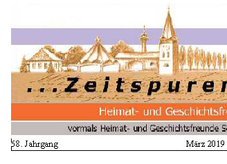 "Zeitspuren, ""watt jöv et Nöes"" – Ausgabe 2 2019"